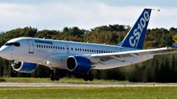 Le premier avion de la CSeries de Bombardier a pris son envol