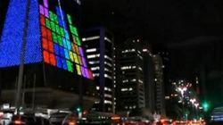 Au Brésil, on peut jouer à Tetris sur les immeubles!