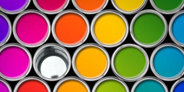 Couleur de l'année 2013: le jaune, la peinture la plus vendue dans le monde