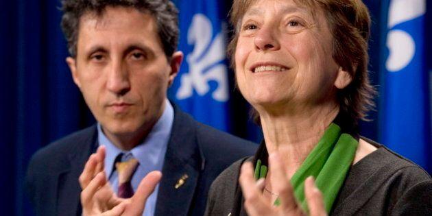 Amir Khadir et Françoise David proposent de passer les REER au