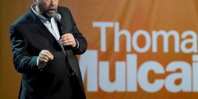 Mulcair soumis à un vote de