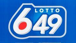 Lotto 6/49: quatre personnes partageront 63,4 millions