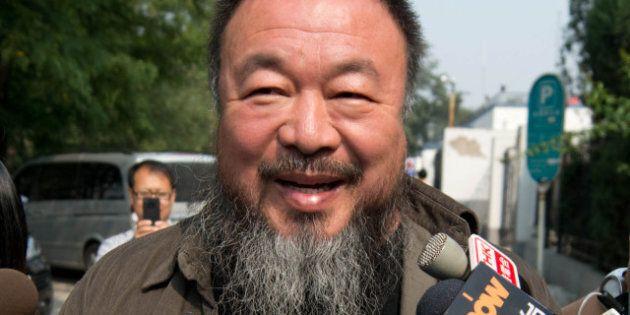 L'artiste contestataire chinois Ai Weiwei prépare un album de heavy