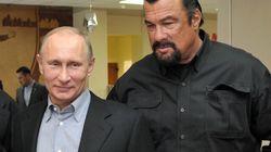 Seagal avec Poutine pour promouvoir la vie saine