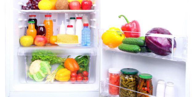 refrigerator full of
