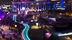 Montréal en lumière : une Nuit blanche haute en