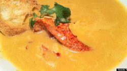 Recette: bisque de homard en 5 étapes