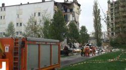 Effondrement d'immeuble à Reims: au moins 3 morts et plusieurs blessés