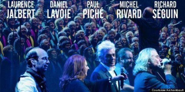 Paul Piché, Michel Rivard, Richard Séguin, Daniel Lavoie et Laurence Jalbert: «Quand le Québec chante»:...