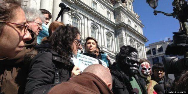 Manifestation et motion contre le règlement P-6