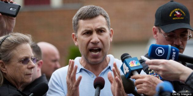 MONTGOMERY VILLAGE, MD - APRIL 19: Ruslan Tsarni, uncle of the suspected Boston Marathon bombing suspects,...