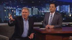 Entrevue avec Harrison Ford: règlement de comptes à l'émission de Jimmy Kimmel