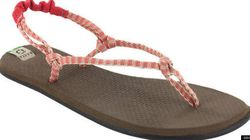 Des sandales écolos en tapis de yoga