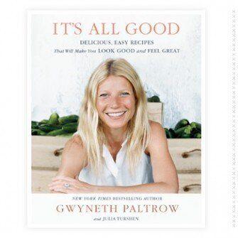 Le nouveau livre de recettes de Gwyneth