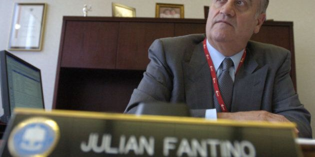 07/08/05 - TORONTO, ONTARIO - COMMISSIONER FANTINO -For National report story on Ontario's preparedness...