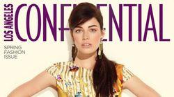 Jessica Paré, superbe sur la Une du «LA Confidential»