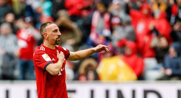 Franck Ribéry a encore quelques matches pour faire ses adieux au public bavarois qui l'a tant...