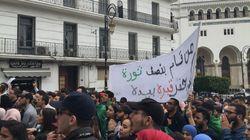 Des étudiants manifestent à Alger-Centre pour