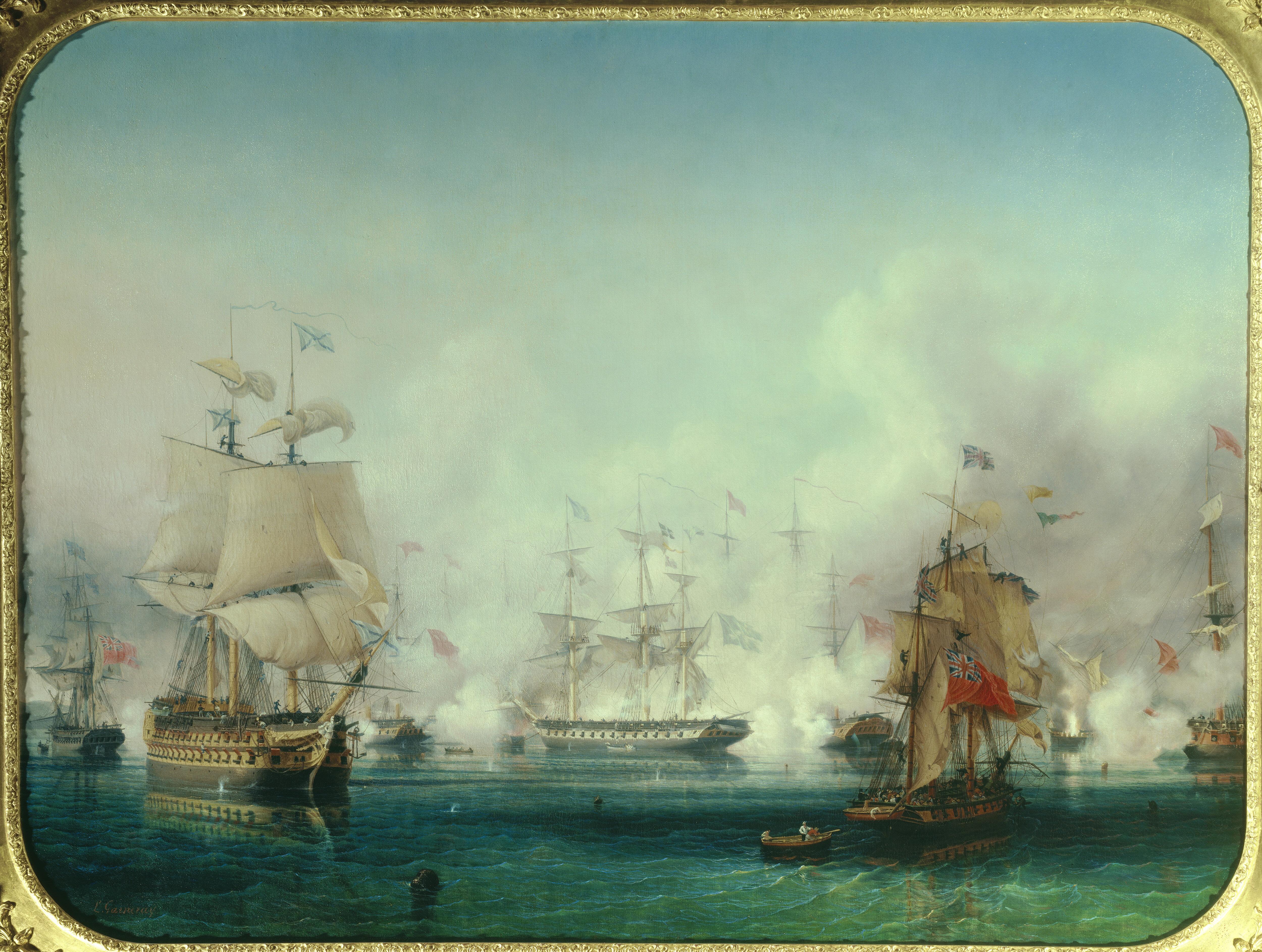 Γάλλοι, Άγγλοι, Γερμανοί, Ιταλοί και άλλοι σύμμαχοι των Οθωμανών, εν μέσω των αγώνων των