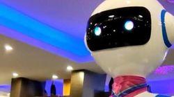 A Rapallo i robot servono ai tavoli al posto di camerieri