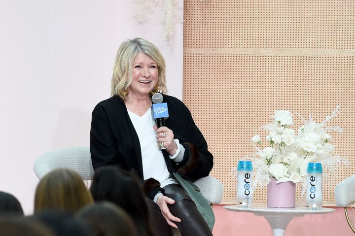 Martha Stewart speaks at the Create & Cultivate conference on May 4 in Brooklyn.