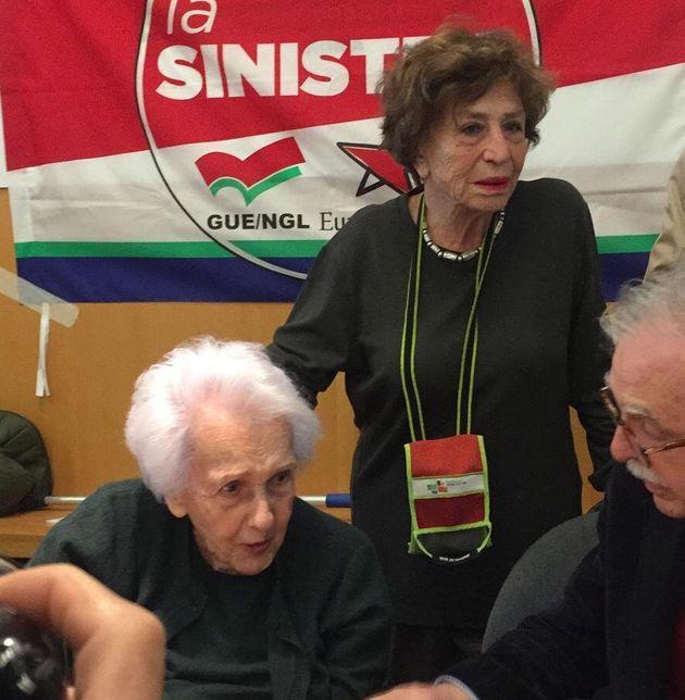 Luciana Castellina e Rossana Rossanda alla Casa Internazionale delle donne: