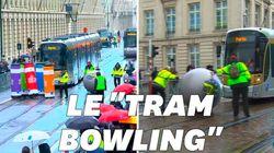 Ces conducteurs de tram ont joué au