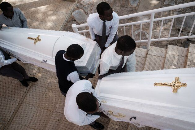 Les restes de 85.000 victimes du génocide au Rwanda