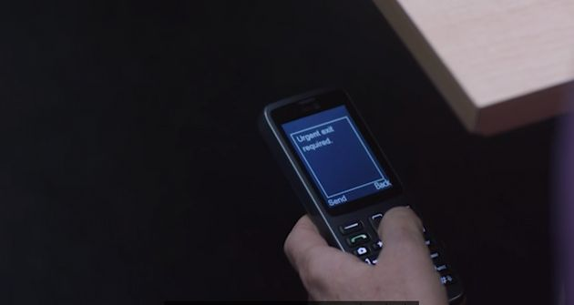 No-one arrived to save Biggeloe after she sent a text from her burner phone requesting an 'urgent