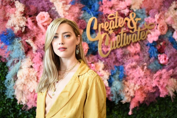 Amber Heard at the Create & Cultivate New York conference held Saturday in Brooklyn.