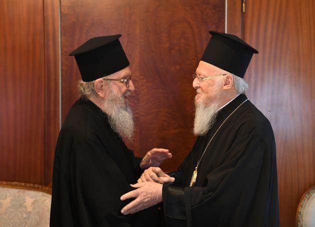 Ο Οικουμενικός Πατριάρχης...