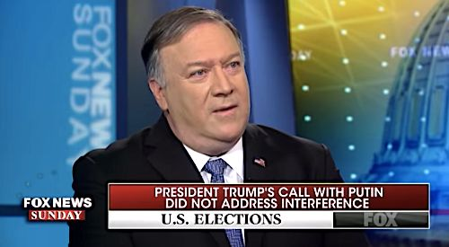 Mike Pompeo on Trump and Putin