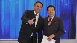 Aos risos, Bolsonaro e Silvio falam de aposentadoria, 'faroeste' de armas e sexo sem