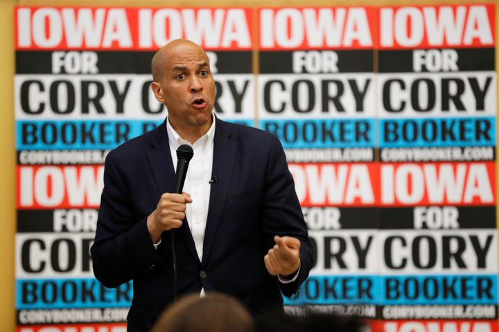 New Jersey Sen. Cory Booker wants to increase federal funding for gun violence intervention programs.