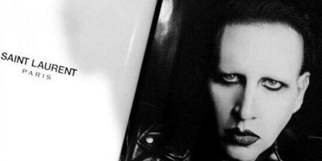 Marilyn Manson: la star est la nouvelle égérie Yves Saint Laurent