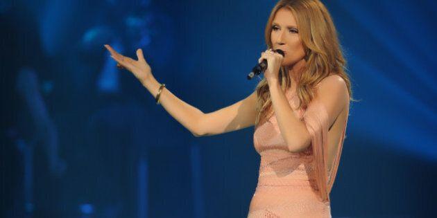 Céline Dion sur les plaines d'Abraham le 27