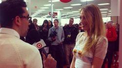 Blake Lively, Sarah Jessica Parker à l'ouverture de Target Canada à Toronto