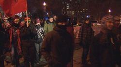 Manifestation étudiante: quatre