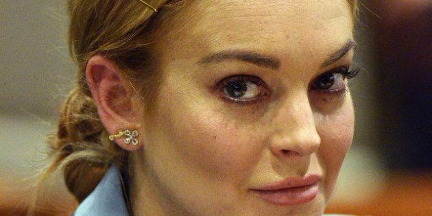 Lindsay Lohan enceinte: elle annonce sa grossesse sur Twitter, un poisson d'avril en