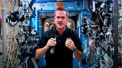 Chris Hadfield en orbite avec