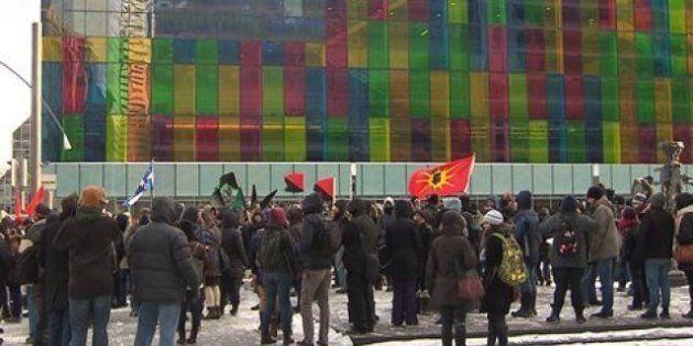 Une manif contre le Plan Nord dégénère à Montréal: la police