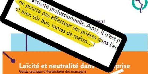 La RATP va publier un guide de la laïcité: les perles de ce manuel à l'usage des cadres en