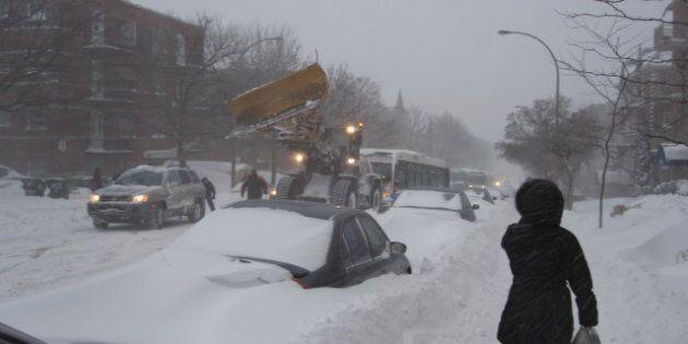 Une tempête de neige ontarienne s'abattra sur le Québec et les