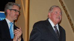 Jacques Parizeau au congrès d'Option