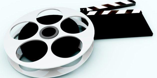3d illustration of cinema