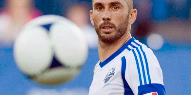 L'attaquant de l'Impact de Montréal Marco Di Vaio pourrait annoncer sa retraite après la