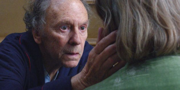Jean-Louis Trintignant et Emmanuelle Riva dans le film «Amour» de Michael Haneke: pour le meilleur et...