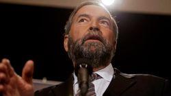 Mulcair tente d'atténuer les différences entre Trudeau et