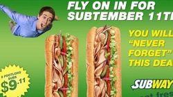 La fausse pub sur le 11 septembre qui n'a vraiment pas plu à Subway