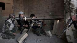 Offensive majeure des troupes du régime syrien contre la ville de